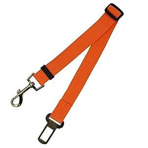 Adjustable Pet Cat Dog Car Safety Belt Collars Pet Restraint Lead Leash Travel Clip Car Safety Harness For Most Vehicle