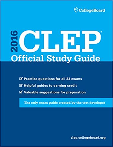 CLEP Official Study Guide 2016