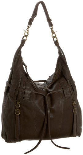 Marc New York by Andrew Marc Venture Hobo,Evergreen,one size