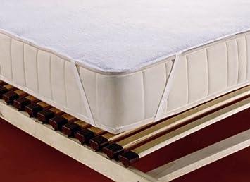 Inkontinenz Matratzenauflage 90x200.Wasserundurchlässige Frottee Inkontinenz Matratzenauflage 90 X 200 Cm Weiß Ohne Pvc