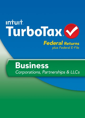 TurboTax Business Fed + Efile 2013 [Old Version] by Intuit