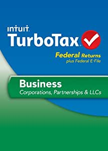 TurboTax Business Fed + Efile 2013 [Old Version]