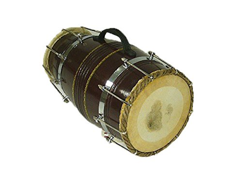 Dholak with Metal Hooks and Bag