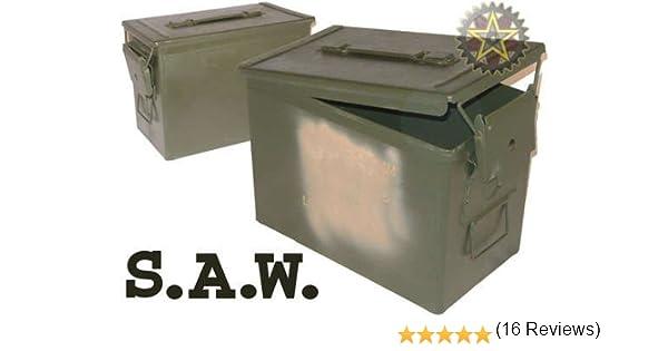 pa-108 caja de grasa de 50 (sierra) municiones Munición/puede: Amazon.es: Deportes y aire libre