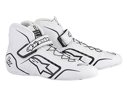 Alpinestars TECH 1-Z Men's Shoes (White/Black, Size 12) by Alpinestars