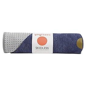 yogitoes Yoga Mat Towel, Solid