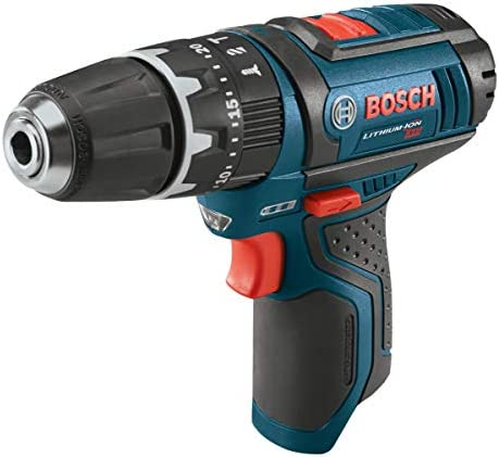 Bosch Bare-Tool PS130BN 12-Volt Max Lithium-Ion Ultra Compact 3 8-Inch Hammer Drill Driver -Bare Tool with Exact-Fit L-BOXX Tool Insert Tray