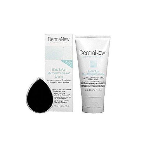 DermaNew Hand and Foot Microdermabrasion Creme 2.6 oz. Dermanew Crystal