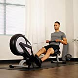 Sunny Health & Fitness SF-RW5623 Air Rowing Machine Rower w/LCD Monitor