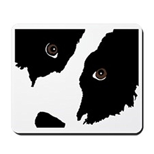CafePress - Border Collie Watching Ewe 2 - Non-Slip Rubber Mousepad, Gaming Mouse Pad