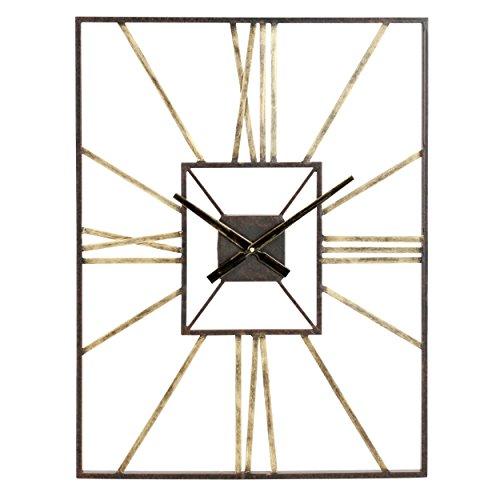 Aspire Lex Mid Century Wall Clock, Gray 41MrQwcjK1L