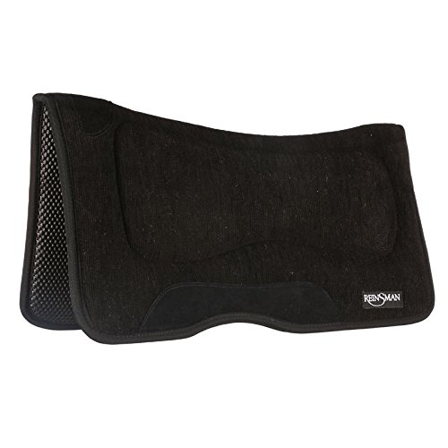 Reinsman M2 Lite Square Contour Saddle Pad with Tacky Too (Tacky Too Pad)