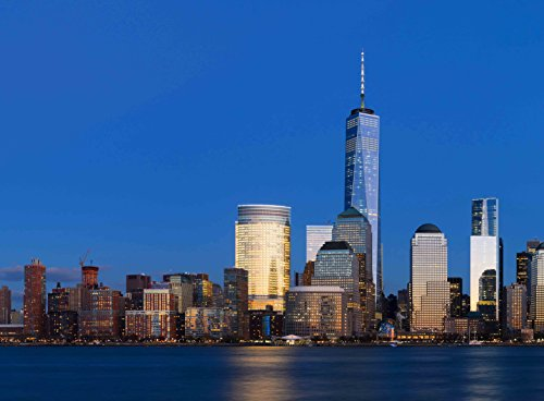 FKG Adult Jigsaw Puzzle One World Trade Center Manhattan Night New York City USA 500-Pieces (New York Skyline One World Trade Center)