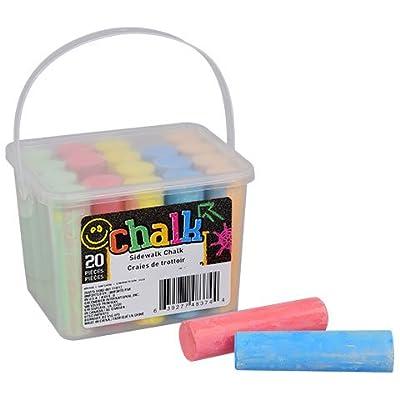 Greenbrier Sidewalk Chalk, 20-ct. Box: Toys & Games