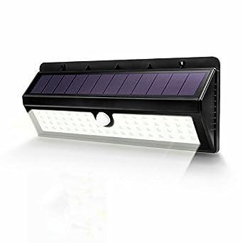 Valuepact Lampe Solaire D Exterieur Super Lumineux Detecteur De