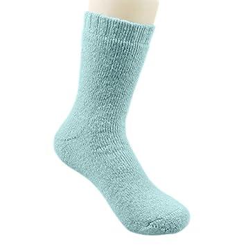 El otoño y el invierno, calcetines viejos hembra de terciopelo negro grueso algodón caliente abuela, madre anciana invierno, todo el código, ...