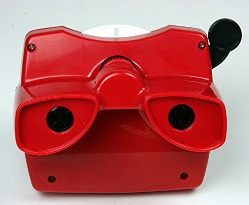 (Classic Viewmaster Viewer 3D Model L in RED)