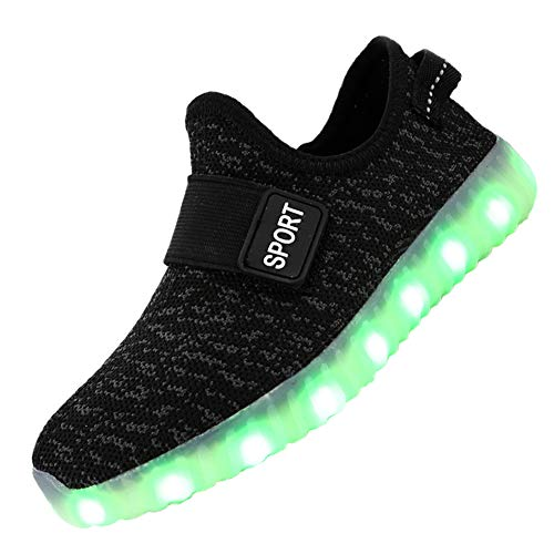 ad1b143adae1d Jual FASHOE Kids Boys Girls Breathable LED Light Up Shoes Flashing ...
