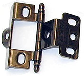 """AMEROCK DECORATIVE VARIABLE OVERLAY HINGE SOLD PER PAIR OA HEIGHT 2 3//4/"""""""