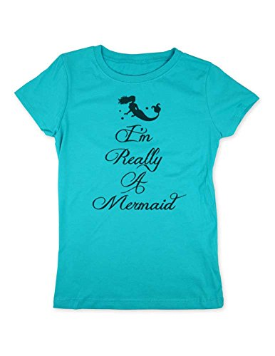 cuteandfunnykids I'm Really A Mermaid Design 1 Youth Girls S