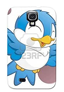 Defender Case For Galaxy S4, Cute Cartoon Bird Isolated Object For Design Element Royalty Pattern