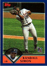 Amazoncom 2003 Topps Detroit Tigers Baseball Cards
