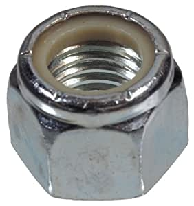 The Hillman Group 3385 M6 - Metric Stop Nut Zinc Plated, 16-Pack