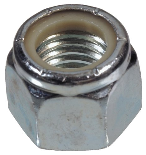 The Hillman Group 180189 Nylon Insert Lock Nut, 1/2-Inch by 20-Inch, 50-Pack by The Hillman Group