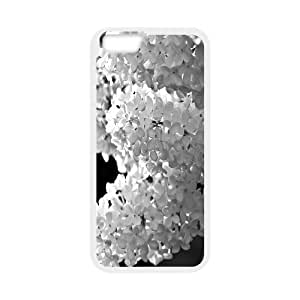 IPhone 6 Cases White Lilac Black and White, - [White] Cathyathome