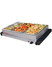 Maxim Food Warmer Buffet Server (BS300) 3X 2L