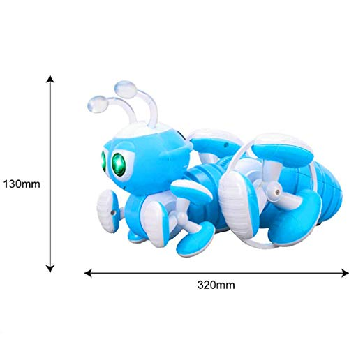 DDLmax Multi-Function Remote Control Ant Toy Programmable Music Dance Tell Story RC Toy by DDLmax (Image #3)