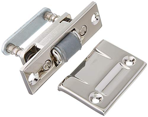 Baldwin 0430140 Roller Latch, Bright Nickel