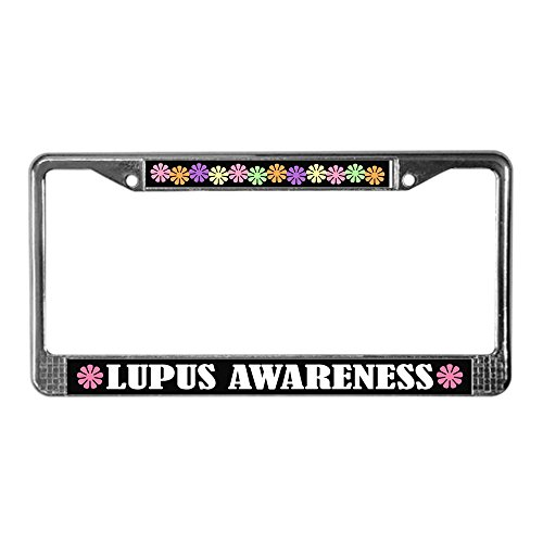 lupus license plate frame - 3
