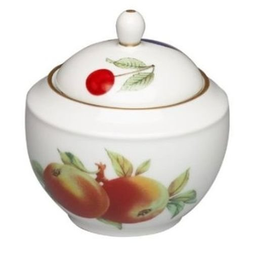 Royal Worcester Evesham Gold Sugar Bowl Japan Sugar Bowl