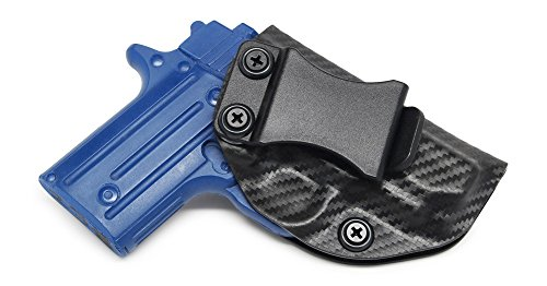 Concealment Express IWB KYDEX Holster: fits Sig Sauer P238 - Custom Fit - US Made - Inside Waistband - Adj. Cant/Retention (CF BLK, Right)