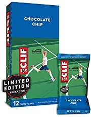 Clif Bar Energierzegel Chocolate Chip, 12 stuks (12 x 68 g)