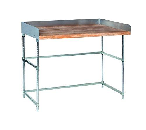 Backsplash Open Base Work Table - Tarrison HT4B3072C 4
