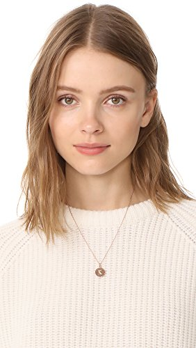 "Kate Spade New York Kate Spade Pendants K Pendant Necklace, 18"""