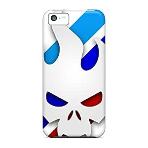 Protective Hard Cell-phone Cases For Iphone 5c (XWZ5652MYCJ) Customized Realistic Red Hot Chili Peppers Series hjbrhga1544