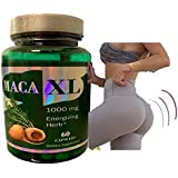 Maca Capsules Original Pill Shape Buttocks Bigger Butt Booty Shaper SUPER MACAXL Get a Bigger Booty