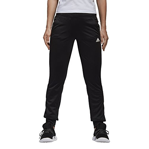 adidas Womens Designed 2 Move Cuff Pants, Black/White, Small