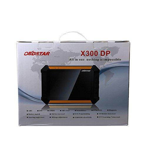 OBDSTAR X300 DP Standard Immobilizer Odometer Adjustment EEPROM/PIC Adapter OBDII X300 DP One Key Update
