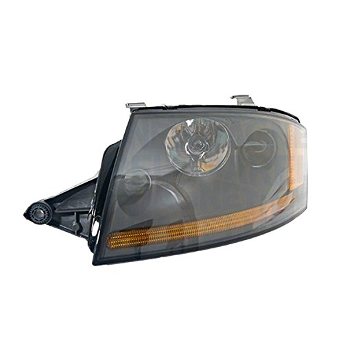 CPP AU2502116 Left Headlamp Assembly Composite for 00-06 Audi TT