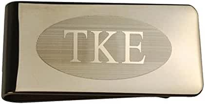 Tau Kappa Epsilon TKE Gold Plated Money Clips