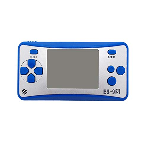 (Cywulin Retro Mini Handheld Video Game Player Console Gameboy Built-in 168 Classic Games Travel Portable Gaming System Electronics Machines 2.5 Inch Support TV Play Present for Boy Kids Adult (Blue))