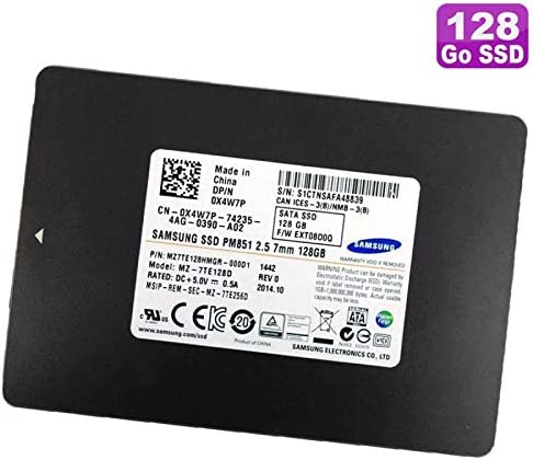 Samsung SSD 128 GB 2.5 mz-7te128d mz7te128hmgr-000d1 0 X 4 W7p x4 ...