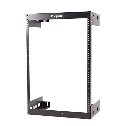 C2G/Cables To Go 14614 30U Wall Mount Open Frame Rack 18'' Deep by C2G
