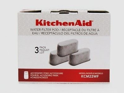 KitchenAid Replacement Coffee Maker Water Filter Pods KCM222