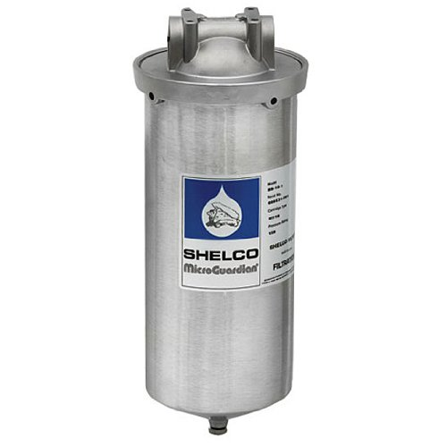 Stainless Steel Water Filter, Large Diameter Water Filter Housing, KleenWater KW4510SW String Wound Sediment Filter, KleenWater KWFLDRG Spare O-Ring by KleenWater (Image #1)