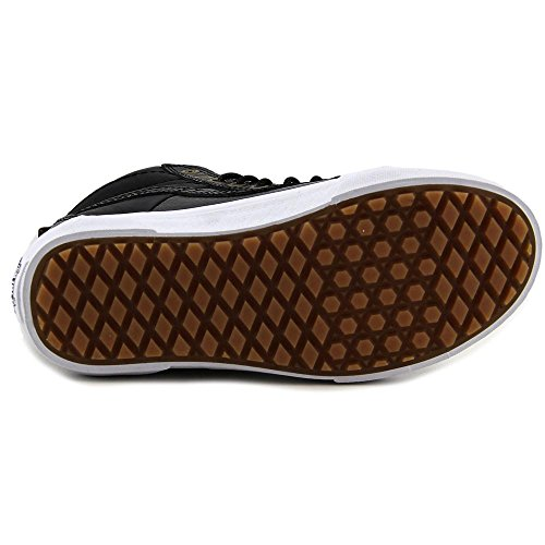 Vans Sk8-hi (mte) Scarpe Da Skate Unisex (pelle Di Ciottoli) Nere